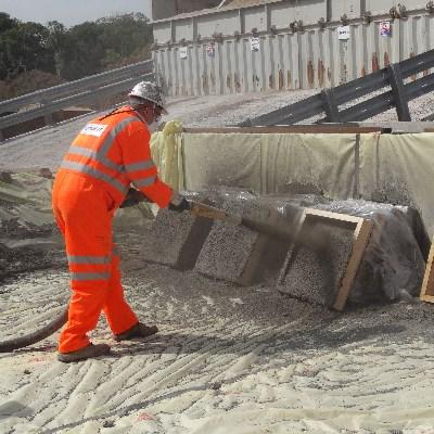 Purškiamo betono konstrukcijos