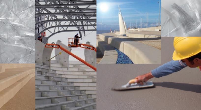 Betono armavimas polipropileno fibra - efektyvesnė ir pigesnė armavimo technologija