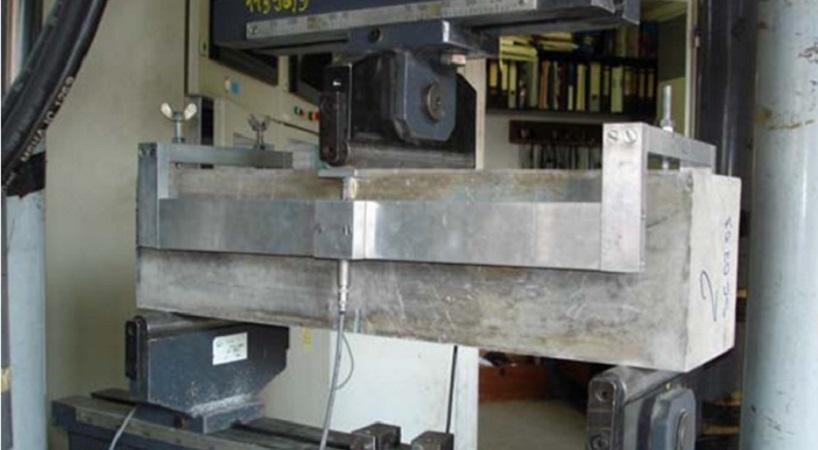 armuoto betono konstrukcijų bandymas