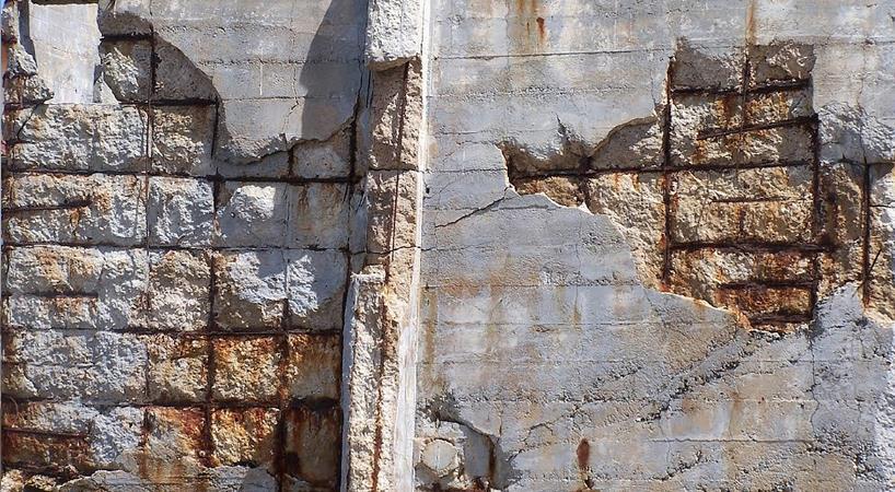 Jūrinių betono konstrukcijų armavimo korozija