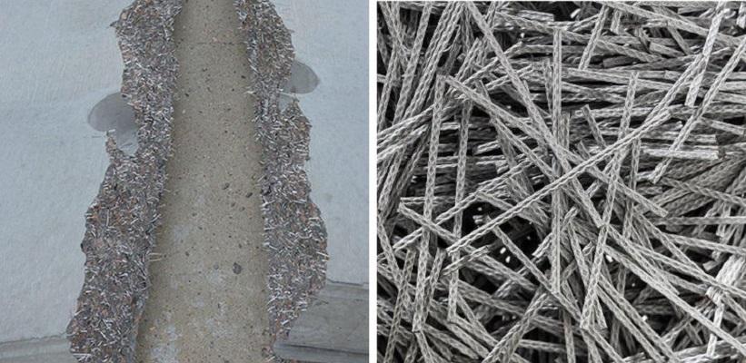 Polipropileno fibra Durus Easy Finish ir jos pasiskirstymas betone